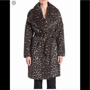 💝 Lord&taylor leopard print coat luxury NWT M